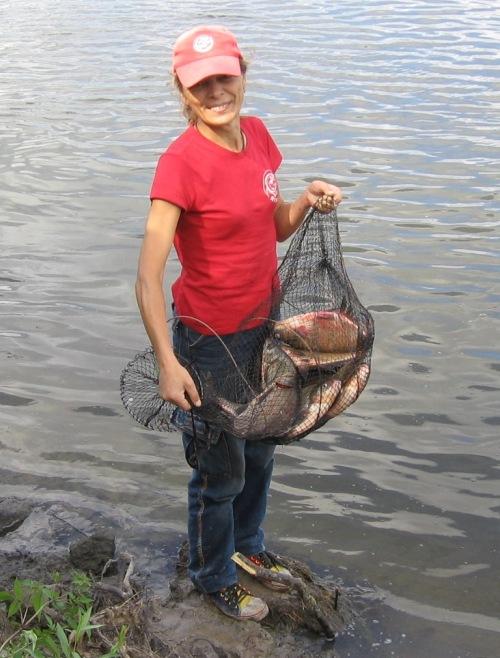 рыбалка весной на сало